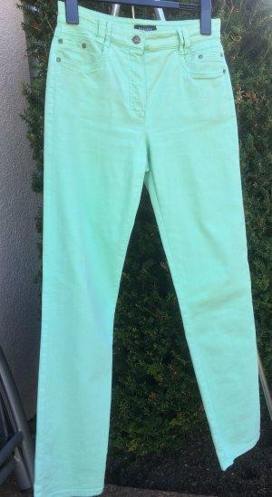 Bexleys Stretch jeans munt Katoen