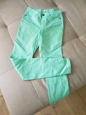 Jeans mintgrün Gr.72 (36lang)