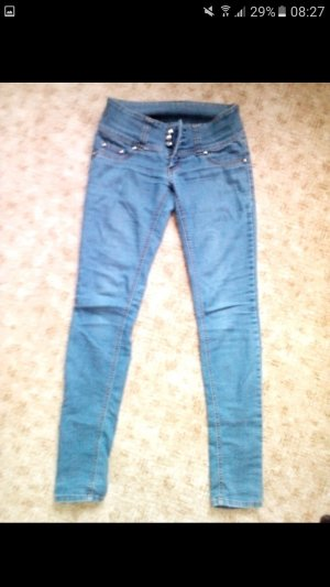 Tally Weijl Jeans a gamba dritta blu