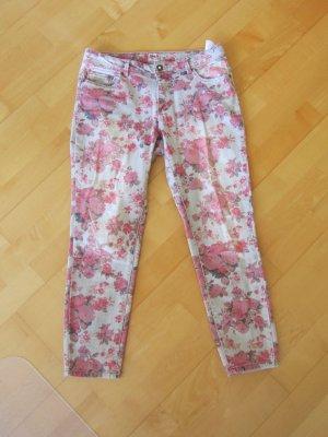 Only 7/8-jeans lichtgrijs