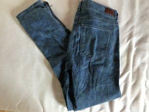 Jeans mit Blumenmuster Gr. 29