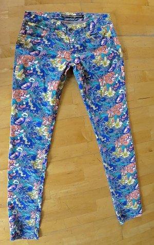 Jeans mit Blumenmuster Größe 30/34