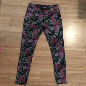 Jeans mit Blumenprint von Hallhuber