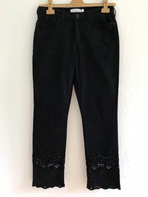 & other stories Jeans cigarette noir coton