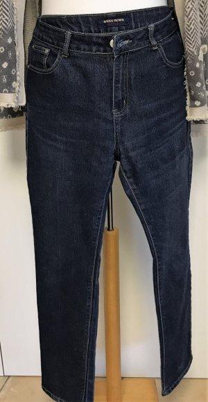 Jeans mit Elasthan, blau