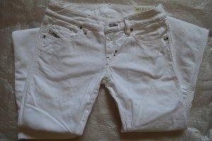 Jeans mit geraden Beinen in echtes Weiß von Diesel