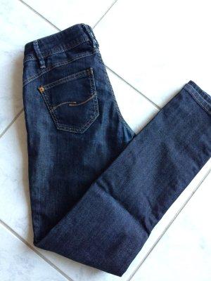 Jeans mit Glanzeffekt