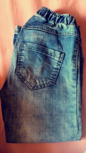 Jeans mit Gummibund Fishbone