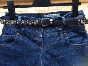 Jeans mit höherem Bund Gr. 38