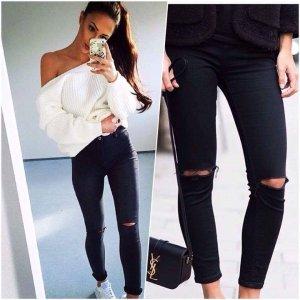 Jeans mit hoher Taille, Strafivarius S