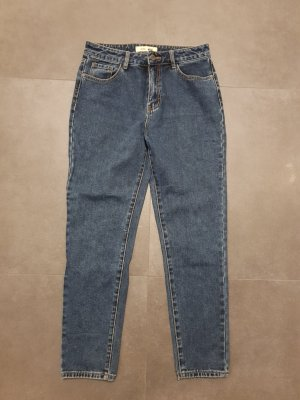 Hoge taille jeans donkerblauw