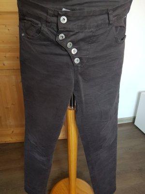 Jeans mit Klopfleiste