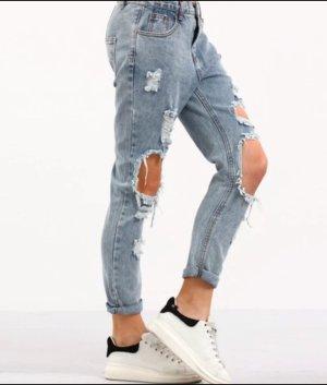 Jeans mit Löcher Boyfriend gr 32-34