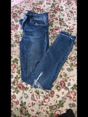Tally Weijl Low Rise Jeans steel blue-cornflower blue