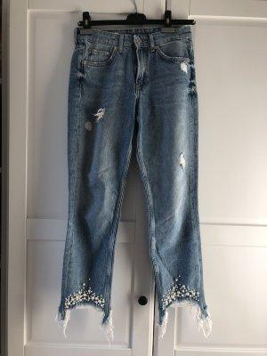 H&M Slim Jeans azure