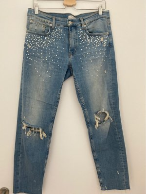 Zara 7/8 Length Jeans azure