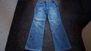 #Jeans mit Perlen, #Bootcut, Gr. 38L32, #Kenny S., #stone