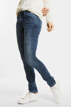 Jeans mit Perlen von Street One NEU