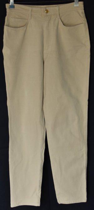 Madeleine Hoge taille jeans beige