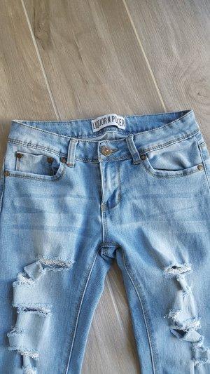 Jeans mit Rissen Gr. 34/36