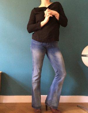 Jeans mit Schlag**Mango**Gr.36