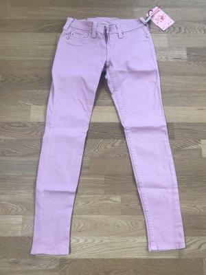 Jeans mit Swarovski Elementen