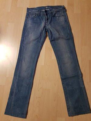 Jeans mit Swarowski -Steine