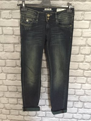 Jeans mit Used Look Waschung