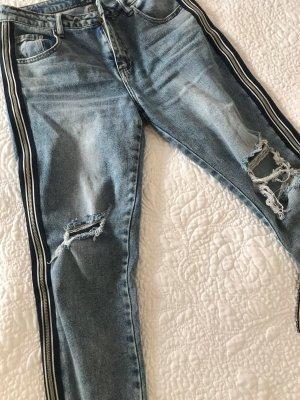 MAY Jeans boyfriend bleu