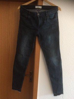Jeans Mittelblau Stretch