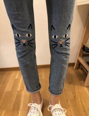 Jeans monki Katzen