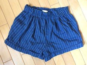 Jeans-Nadelstreifen-Short