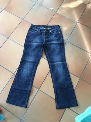 Esprit Low Rise jeans donkerblauw