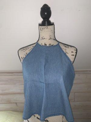 Tally Weijl Halter Top cornflower blue