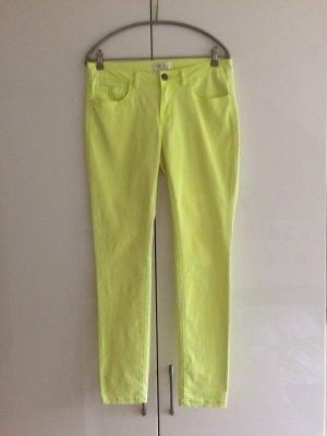 Jeans neongelb Größe 40 von Amisu