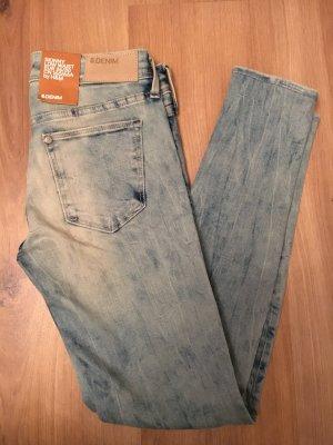 H&M Jeans skinny bleu azur-bleuet