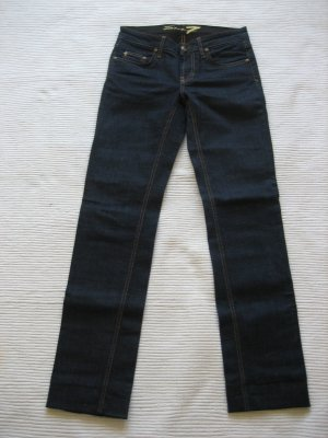 Seven7 Low Rise jeans donkerblauw