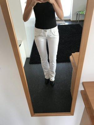 Jeans NEU von PHARD in weiß Gr. 27