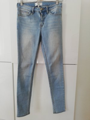 Mango Jeans skinny bleu clair