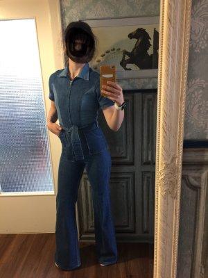 Costume bleu pâle-bleu foncé
