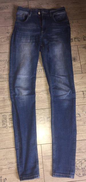 Only Hoge taille jeans veelkleurig