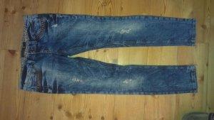 Jeans Only Amy Skinny,ausgefallene Waschung,Nieten, Cutouts, Knallerpreis!