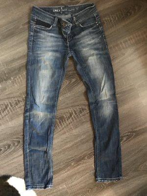 Jeans only Röhre skinny blau