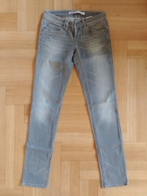 Only Jeans slim fit grigio