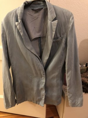Armani Exchange Denim Blazer azure-pale blue
