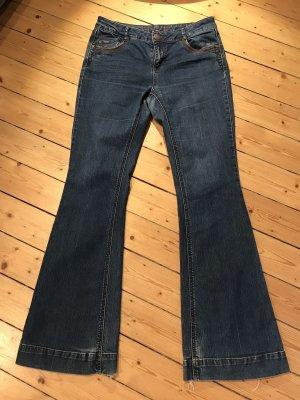 Jeans, Orsay, Bootcut, 38, blau