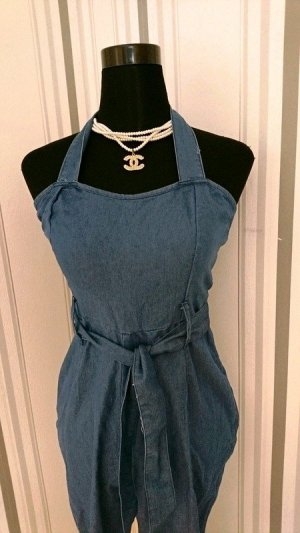 Dungarees blue mixture fibre