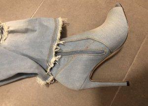 High Heel Boots azure