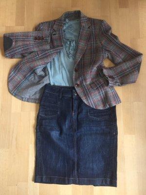 Jeans-Pencilskirt darkblue
