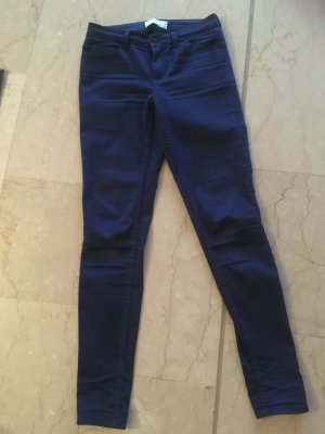 Pieces Hoge taille jeans blauw